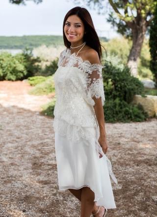 Creatrice robe mariee courte