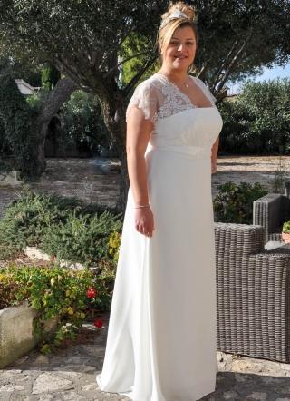 Robe de mariee grande taille rouen