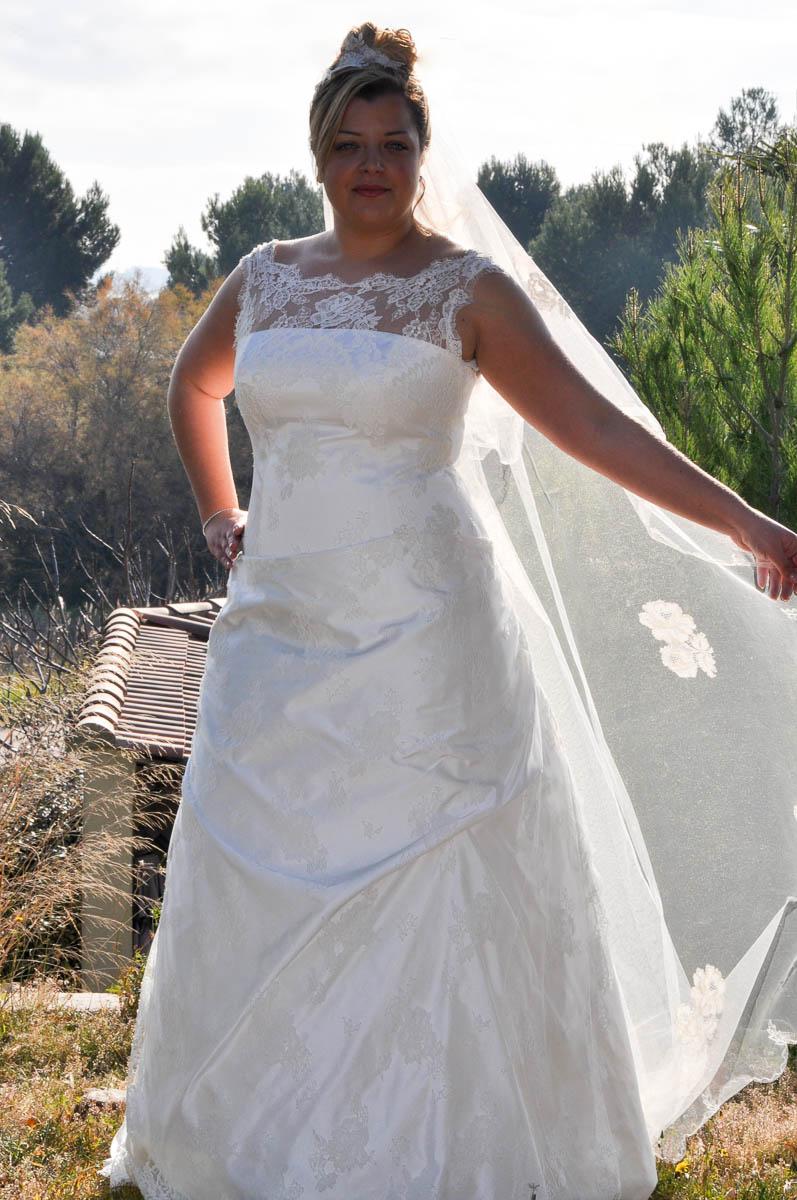 robe de mari e grande taille